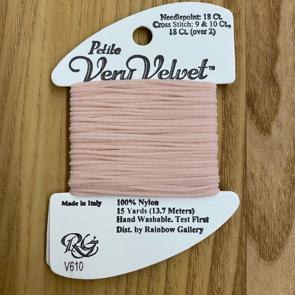 Petite Very Velvet V610 Pink - KC Needlepoint