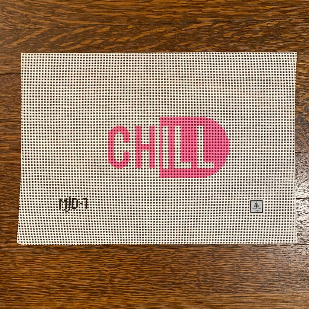 Chill Pill Canvas-Needlepoint Canvas-KC Needlepoint