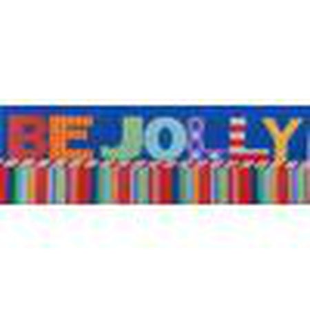Be Jolly Canvas-Needlepoint Canvas-Associated Talents-KC Needlepoint