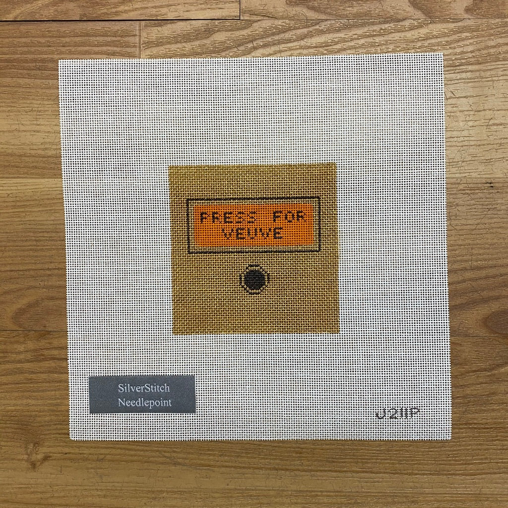 Press for Veuve Canvas-Needlepoint Canvas-KC Needlepoint