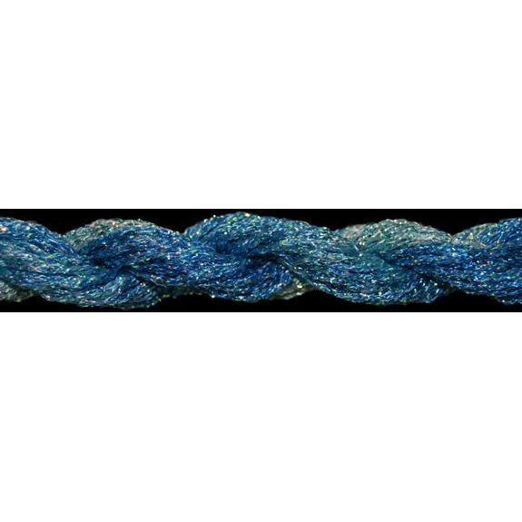 ThreadworX #12 Overdyed Metallic Summer Skies - needlepoint