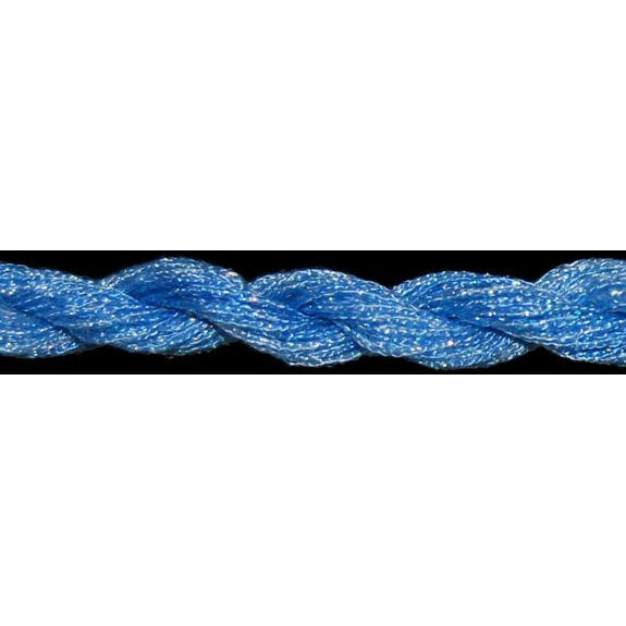 ThreadworX #12 Overdyed Metallic Polar Blue-Metallic-ThreadworX-KC Needlepoint