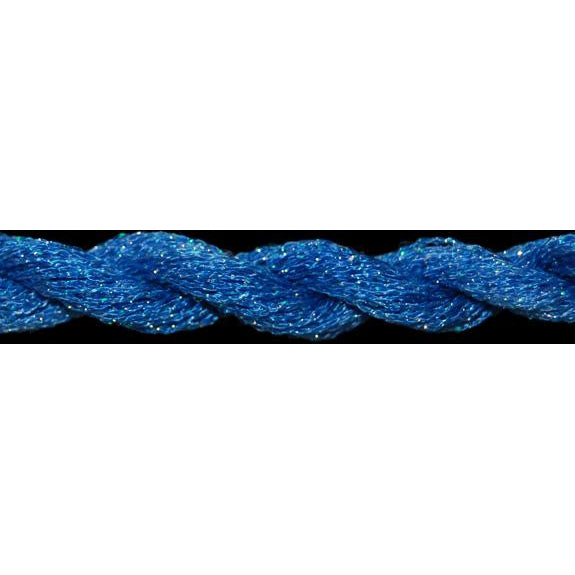 ThreadworX #12 Overdyed Metallic China Blue-Metallic-ThreadworX-KC Needlepoint