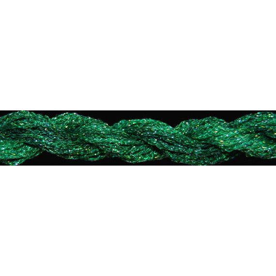 ThreadworX #12 Overdyed Metallic Sky Green-Metallic-ThreadworX-KC Needlepoint