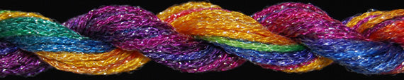 ThreadworX #8 Braid Metallic Bradleys Balloons - needlepoint