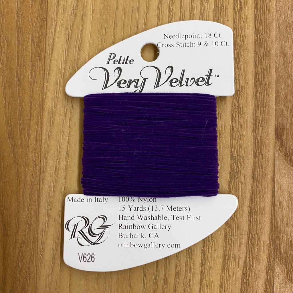Petite Very Velvet V626 Purple - KC Needlepoint