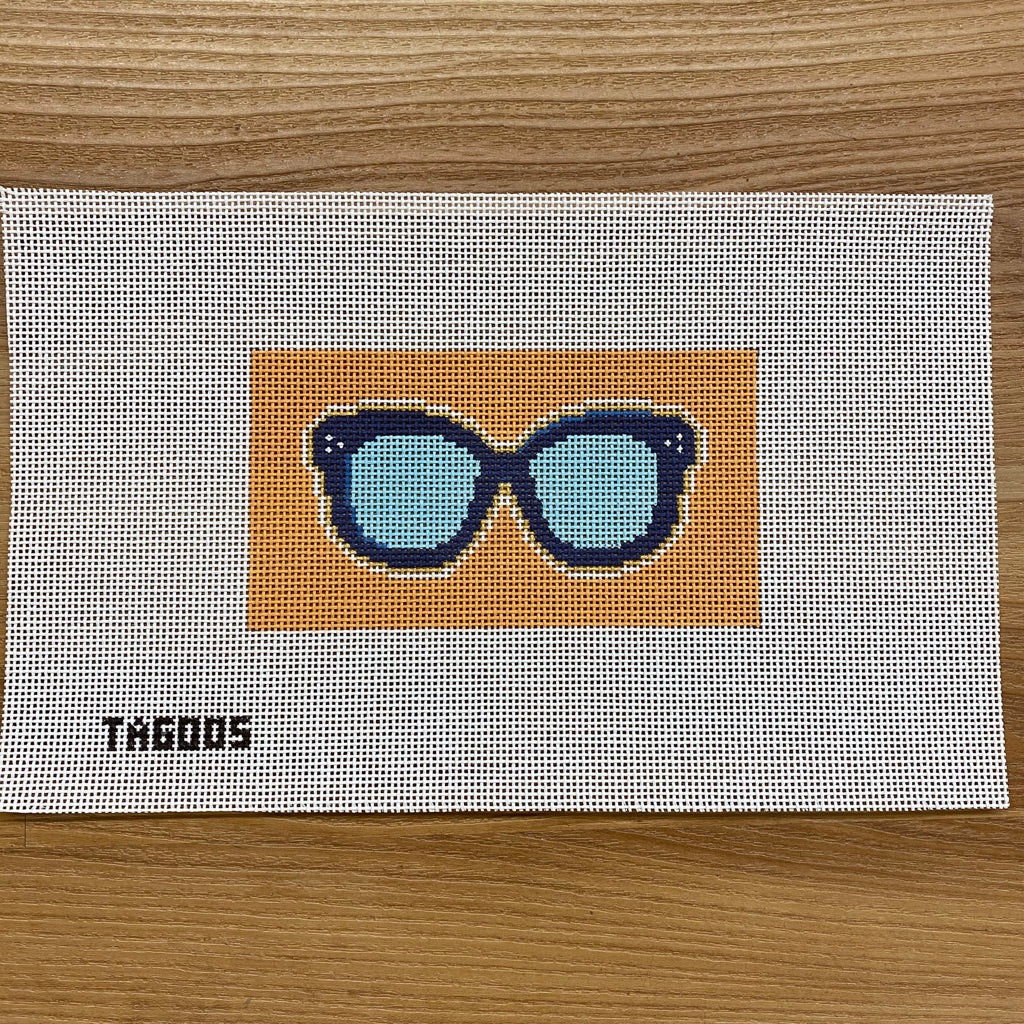 Sunglasses II Canvas - needlepoint