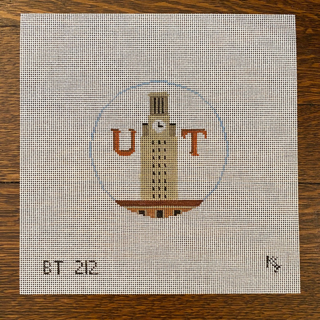 UT Round Canvas-Needlepoint Canvas-KC Needlepoint
