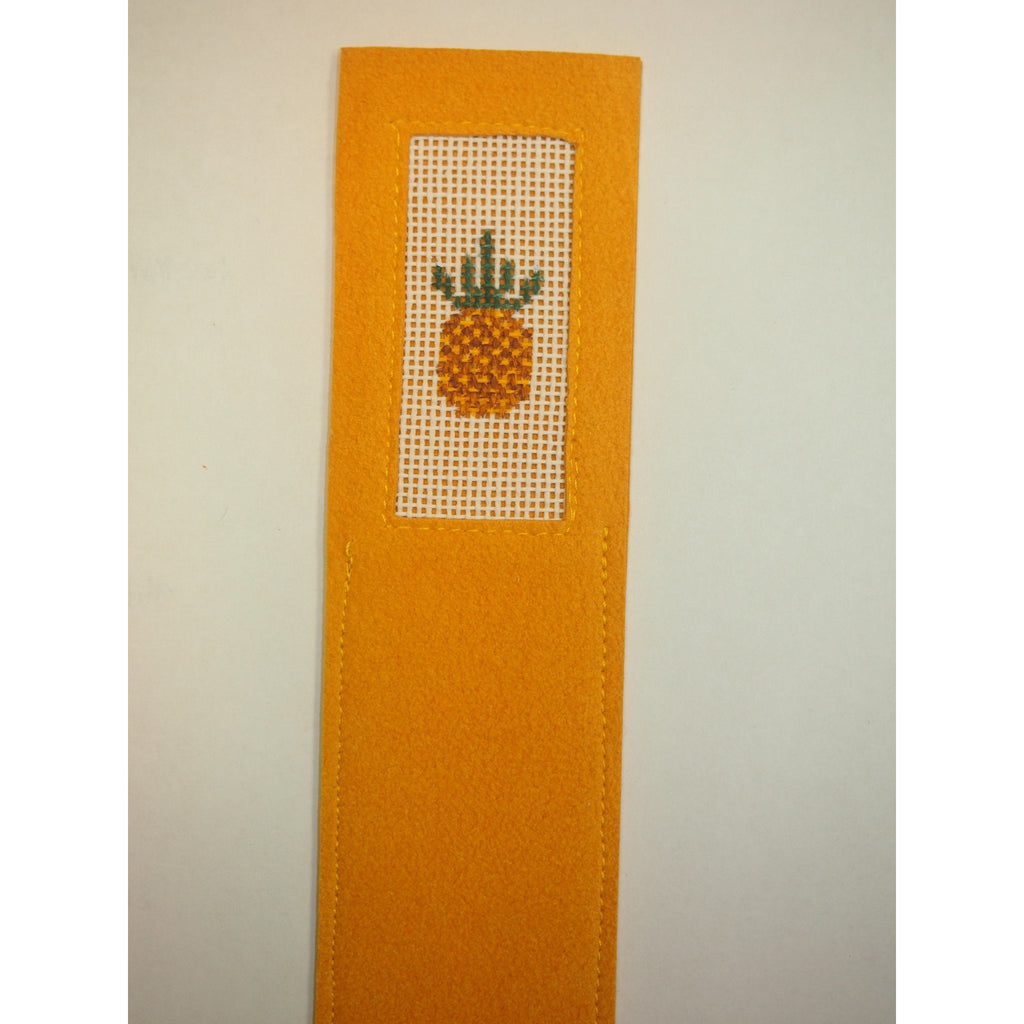 Pineapple Bookmark - needlepoint