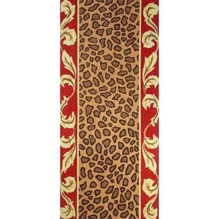 Leopard Clutch Canvas - needlepoint