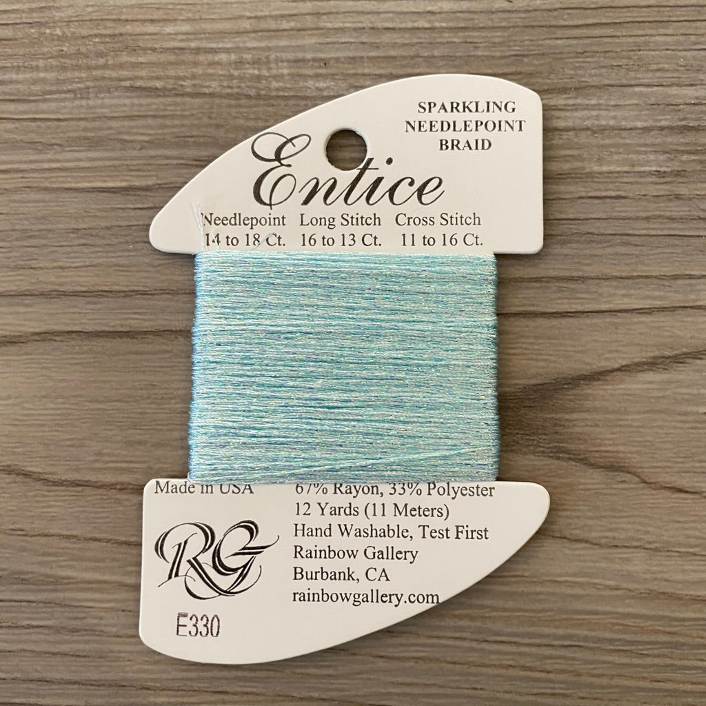 Entice E330 Ice Blue - needlepoint