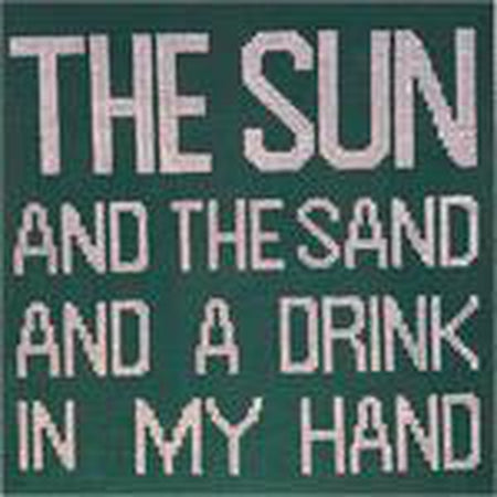 The Sun and the Sand Needlepoint Canvas - needlepoint