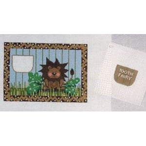 Lion Tooth Fairy Pillow Canvas - KC Needlepoint