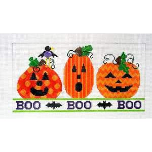 Boo Boo Boo Canvas - needlepoint