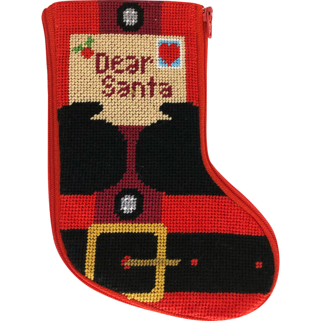 Letter to Santa Mini Sock Kit - needlepoint