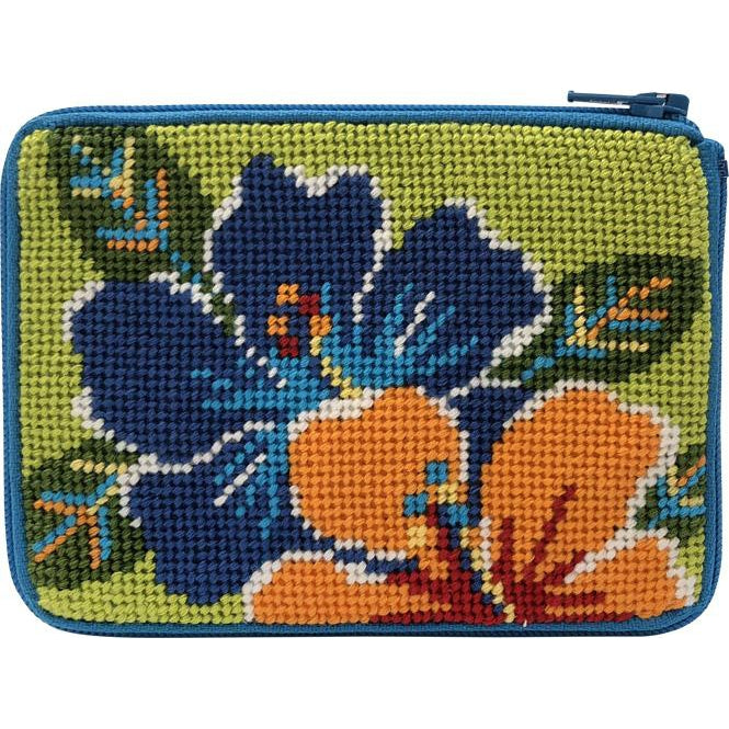 Bright Hibiscus Coin Purse Kit