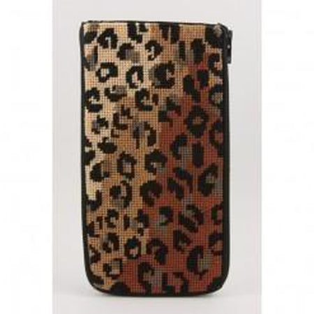 Leopard Print Eyeglass Case Kit-Needlepoint Canvas-Alice Peterson-KC Needlepoint