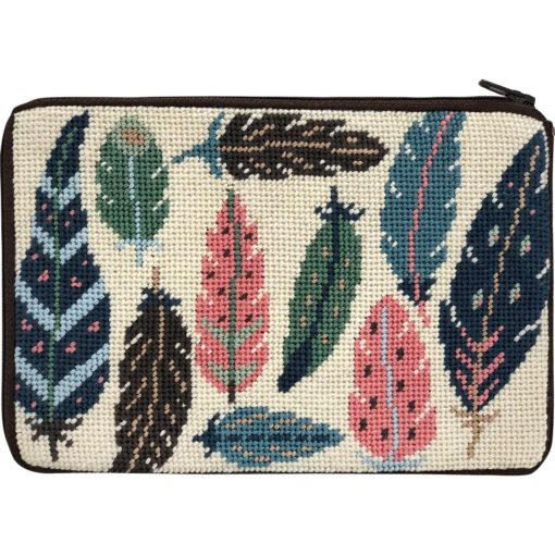 Feathers Cosmetic Purse Kit
