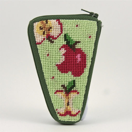 Apples Scissors Case Kit-Needlepoint Canvas-Alice Peterson-KC Needlepoint