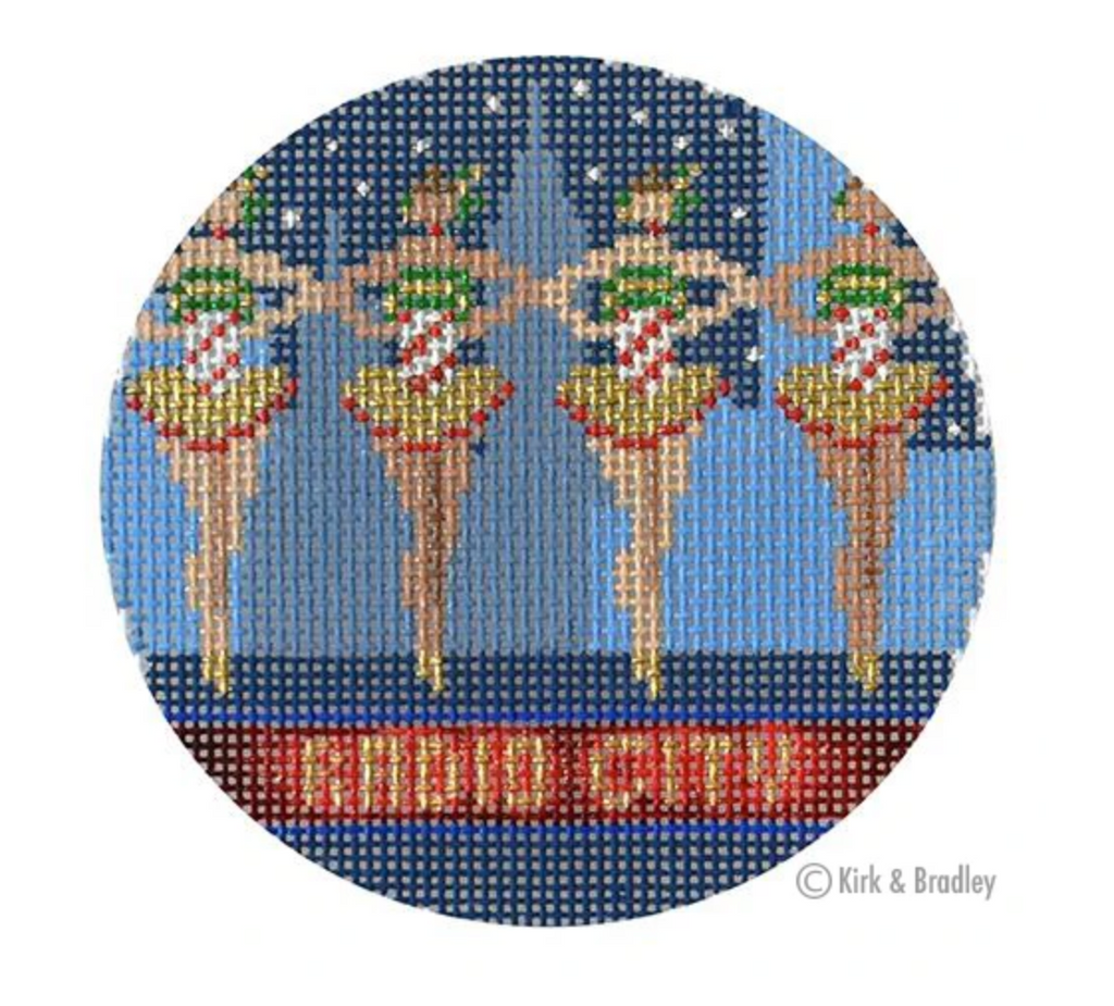 Radio City Rockettes Canvas-Needlepoint Canvas-KC Needlepoint