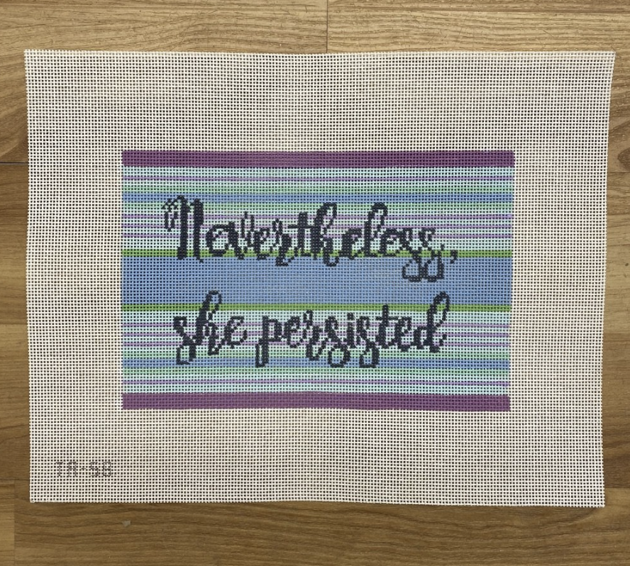 Nevertheless, She Persisted Canvas
