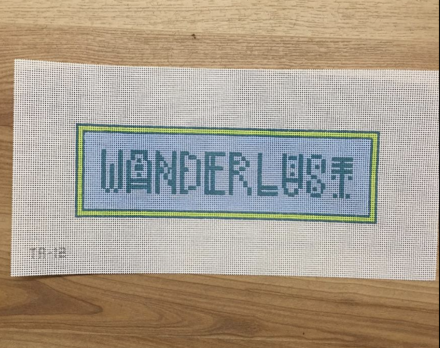 Wanderlust Needlepoint Canvas-Needlepoint Canvas-KC Needlepoint