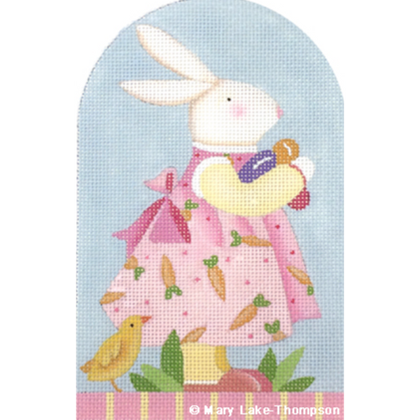 Baby Bunny Needlepoint Canvas - needlepoint