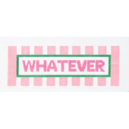 Whatever Canvas - needlepoint