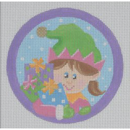 Girl Elf Ornament Canvas