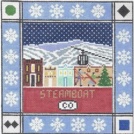 Steamboat Square Canvas