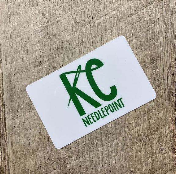Gift Card-Gift Card-KC Needlepoint-KC Needlepoint