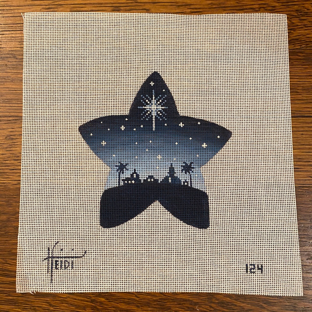 Bethlehem Star Canvas