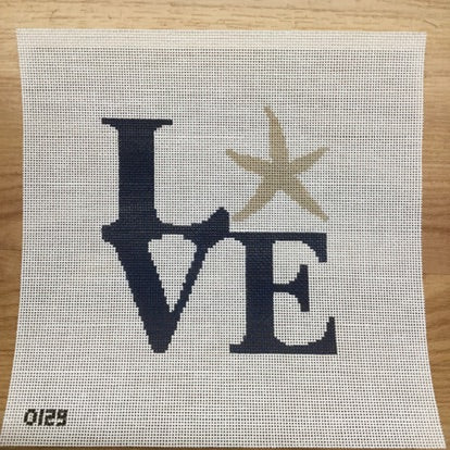 Love Starfish Canvas