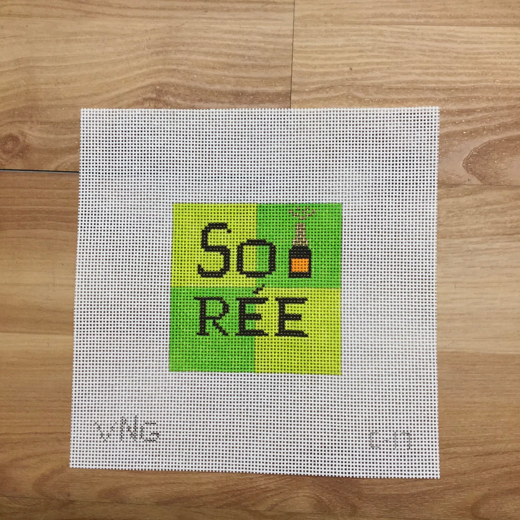 SoiRee Needlepoint Canvas-Needlepoint Canvas-Vallerie Needlepoint-KC Needlepoint