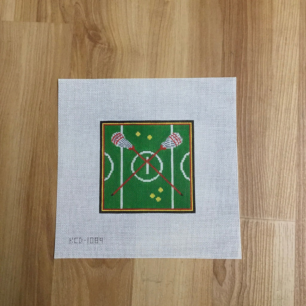 Lacrosse Canvas - needlepoint