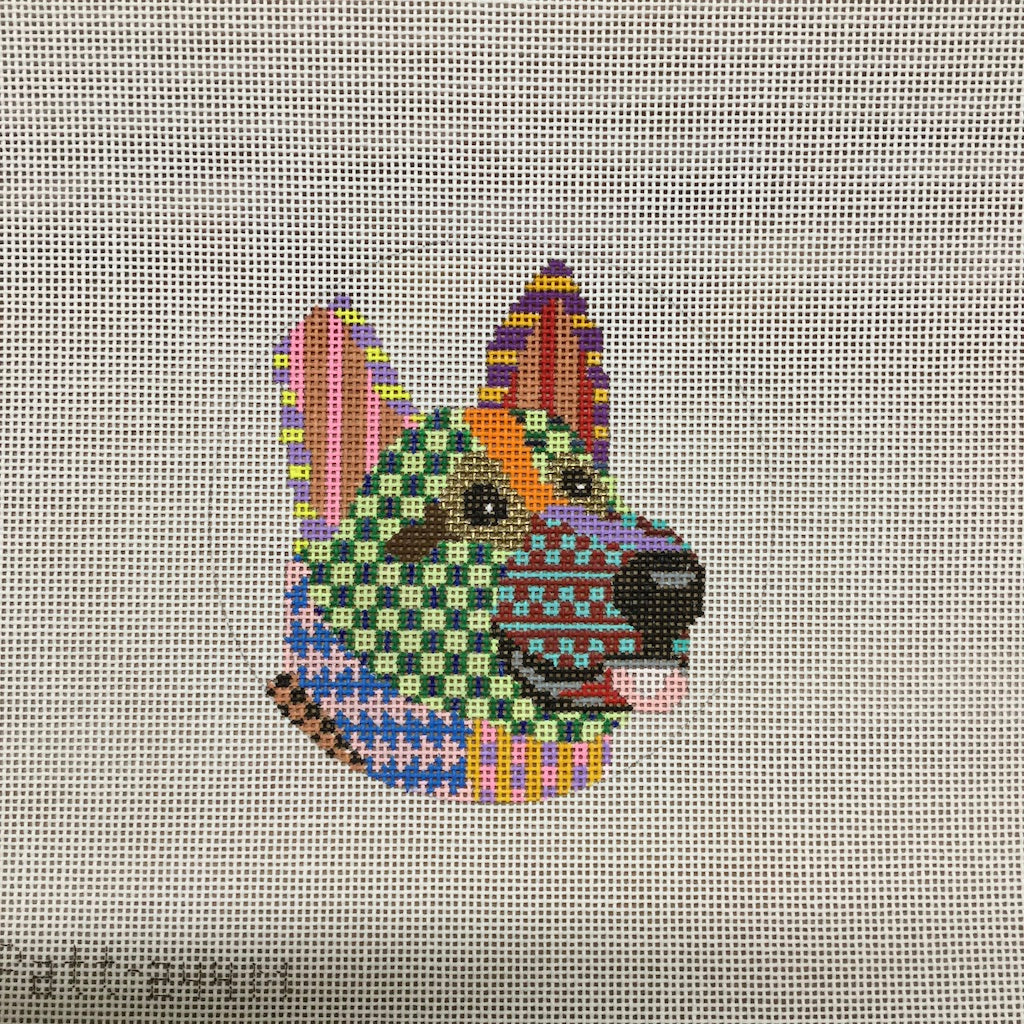 Colorful Dog Canvas