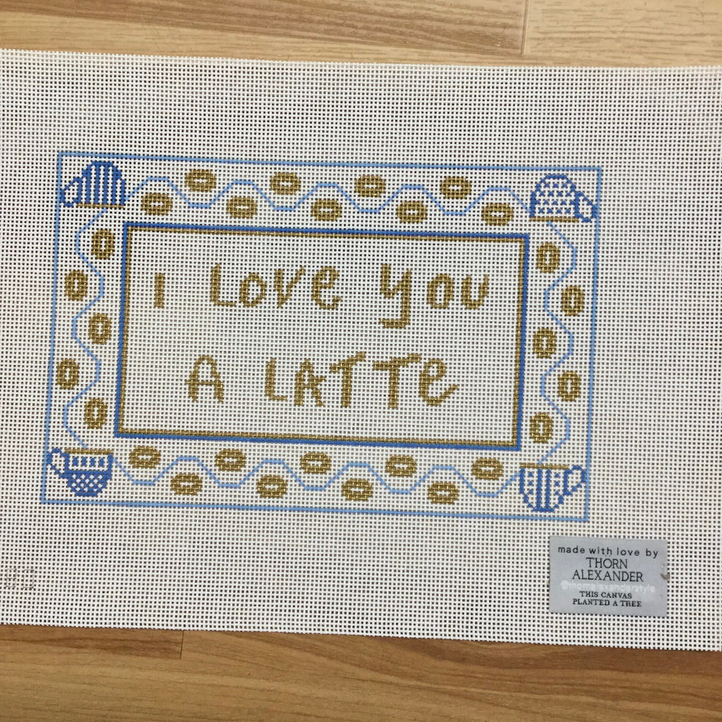 I Love You a Latté Canvas