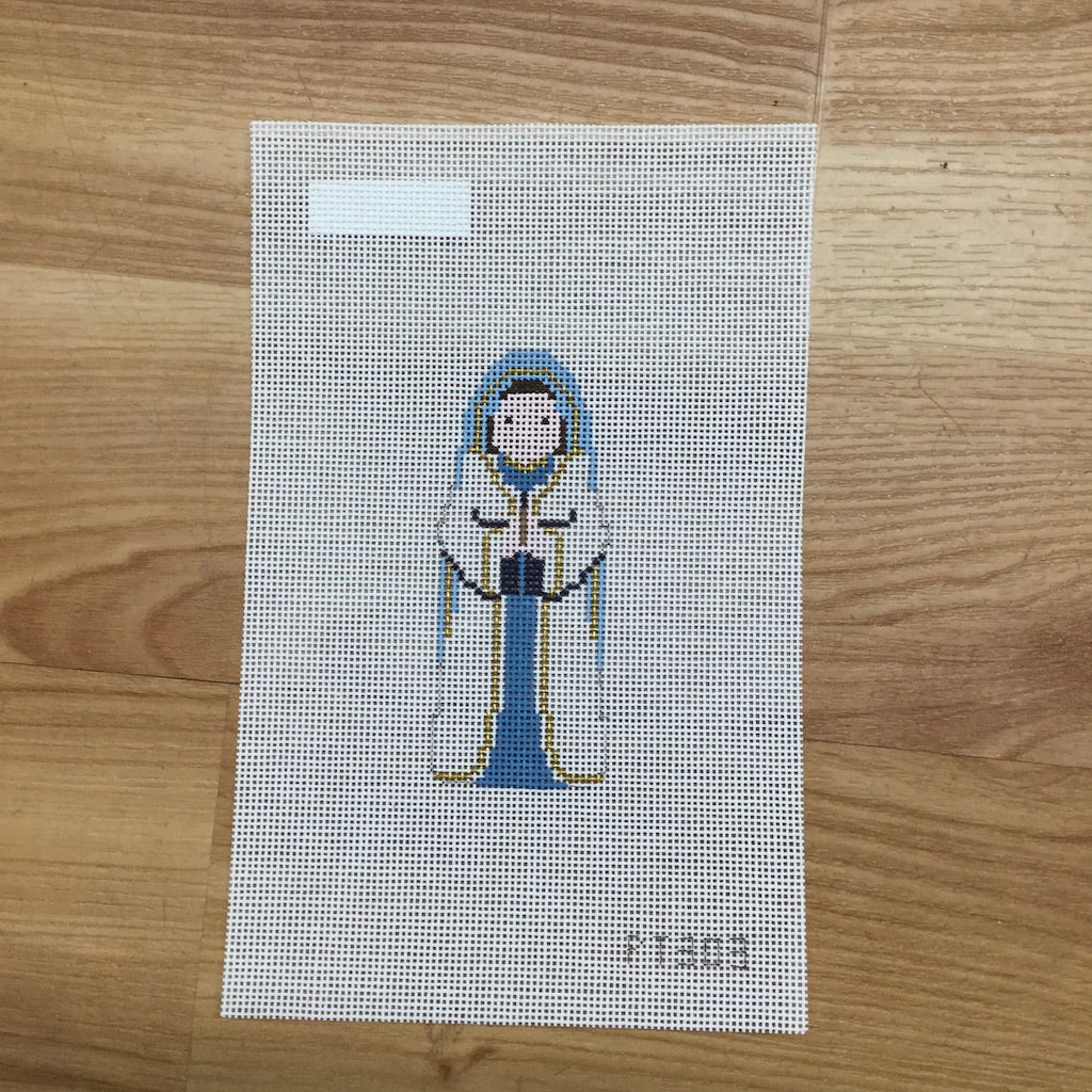 Nativity Piece Mary Canvas - needlepoint