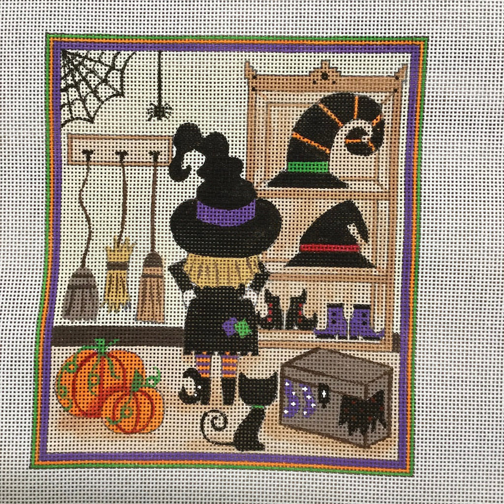 Witches Closet Canvas