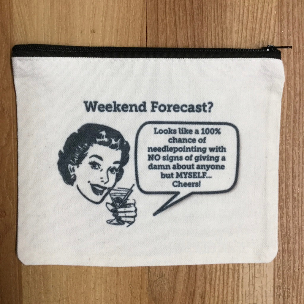 Weekend Forecast... Bag-Accessories-Alice Peterson-KC Needlepoint
