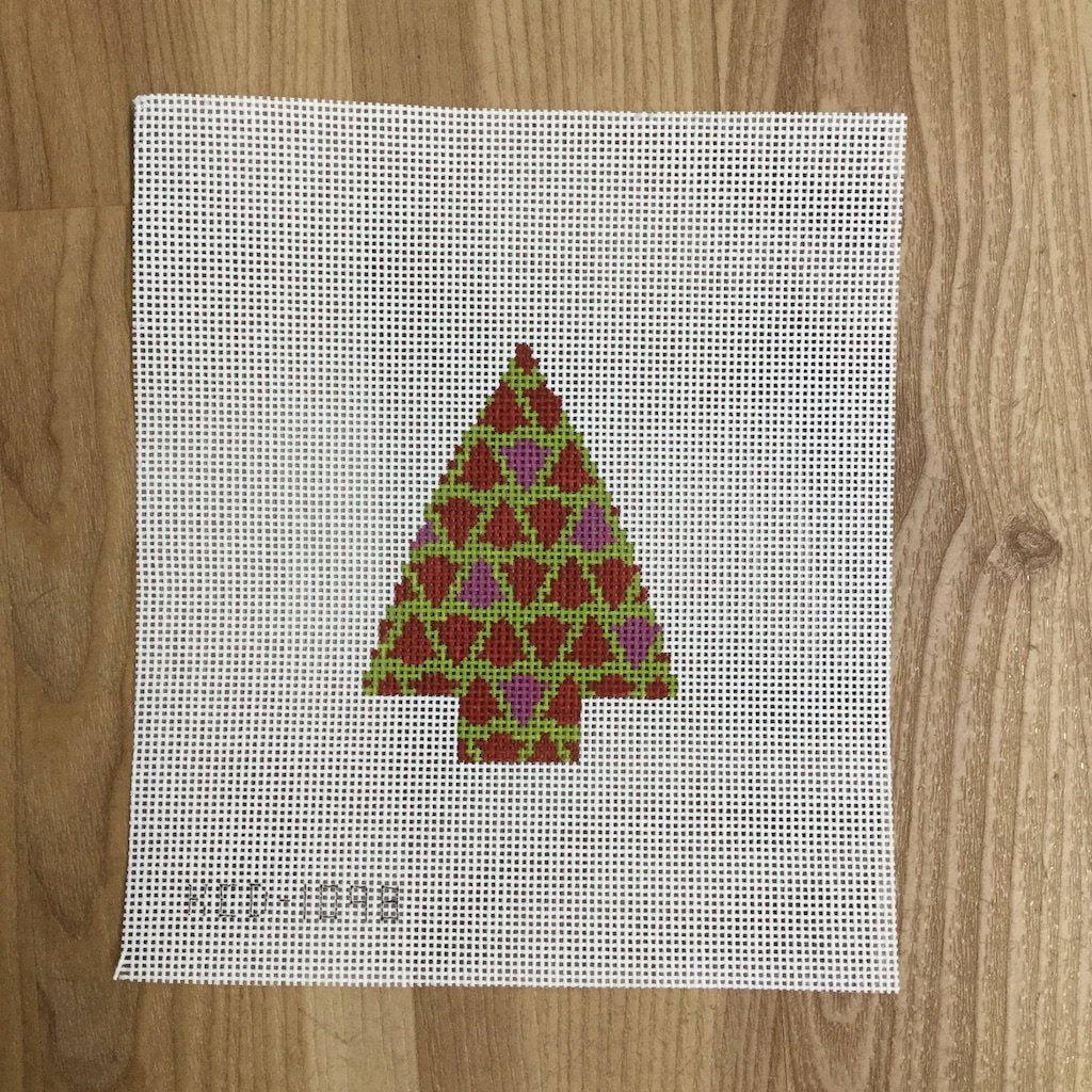 Tree with Trees-Needlepoint Canvas-KCN Designers-KC Needlepoint