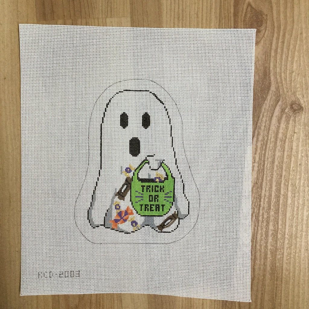 John the Hombre Ghost-Needlepoint Canvas-KCN Designers-KC Needlepoint