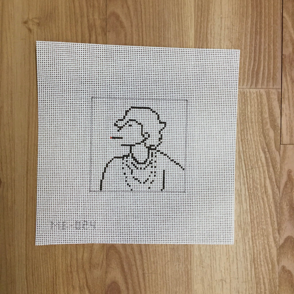 Chanel-Needlepoint Canvas-KCN Designers-KC Needlepoint