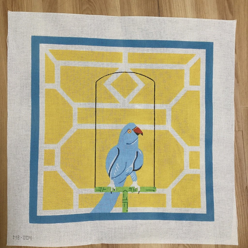 Pretty Polly-Needlepoint Canvas-KCN Designers-KC Needlepoint