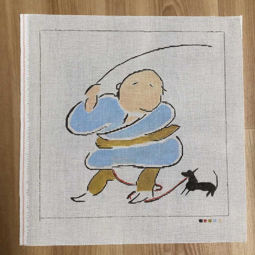 Roly Poly-Needlepoint Canvas-KCN Designers-KC Needlepoint