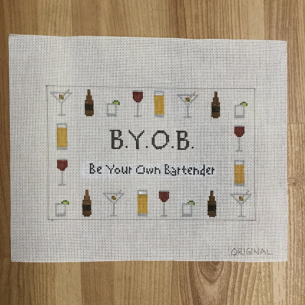 BYOB Canvas-Needlepoint Canvas-KCN Designers-KC Needlepoint