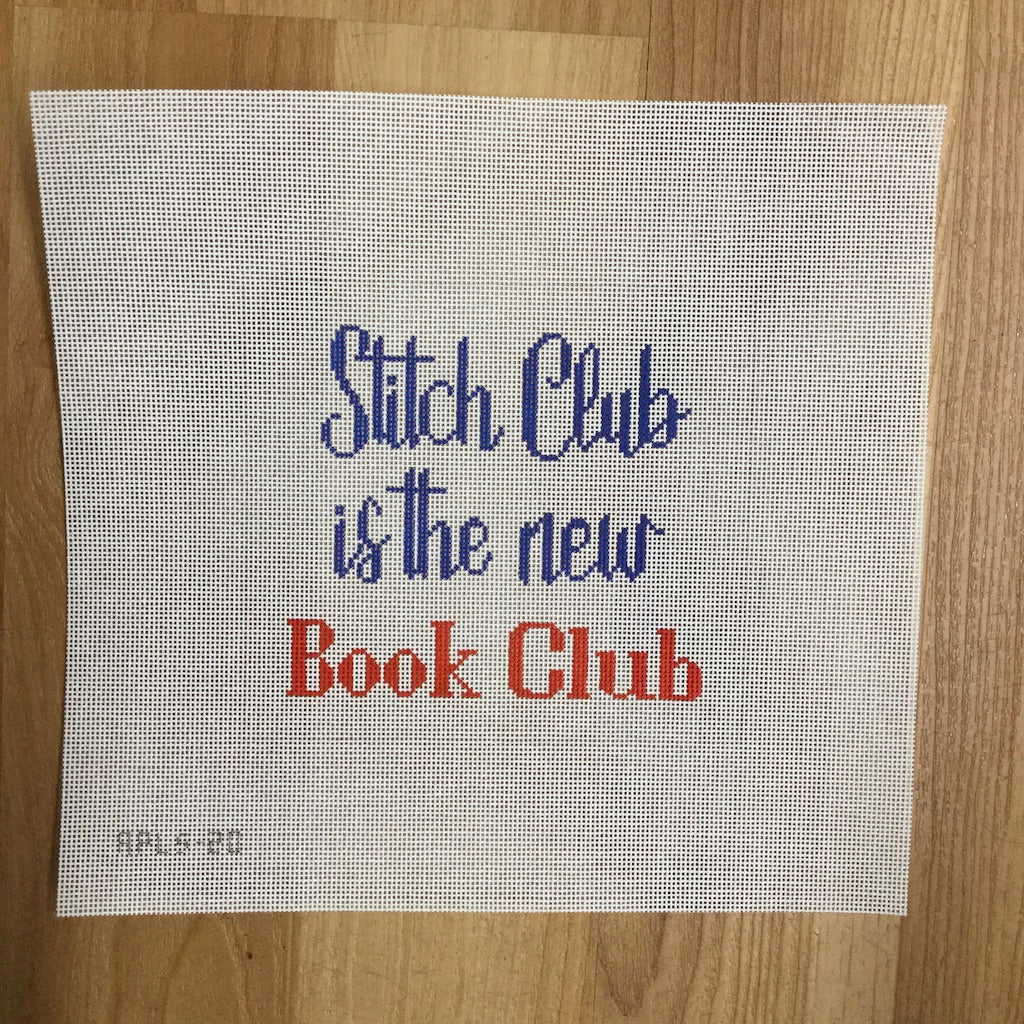 Stitch Club is the New Book Club Canvas