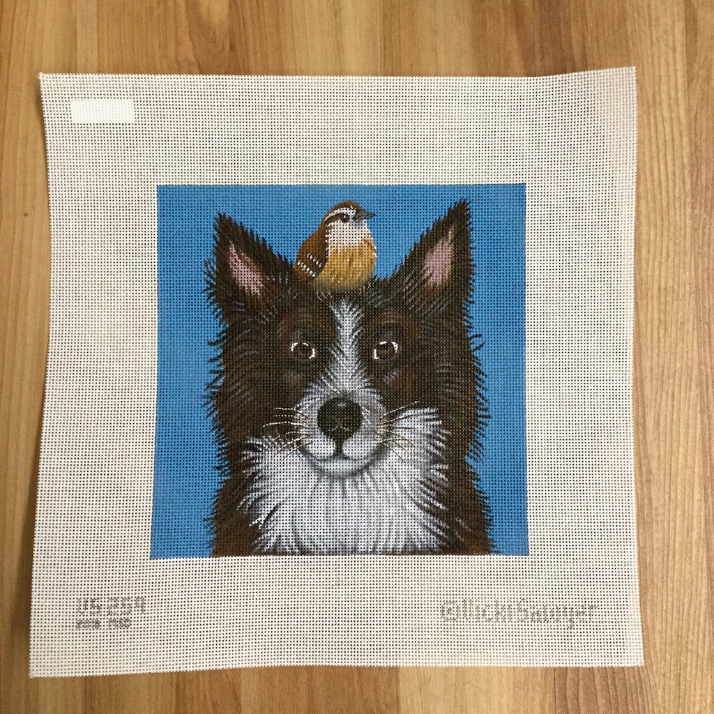 Luther and Pip Needlepoint Canvas-Needlepoint Canvas-Melissa Shirley-KC Needlepoint