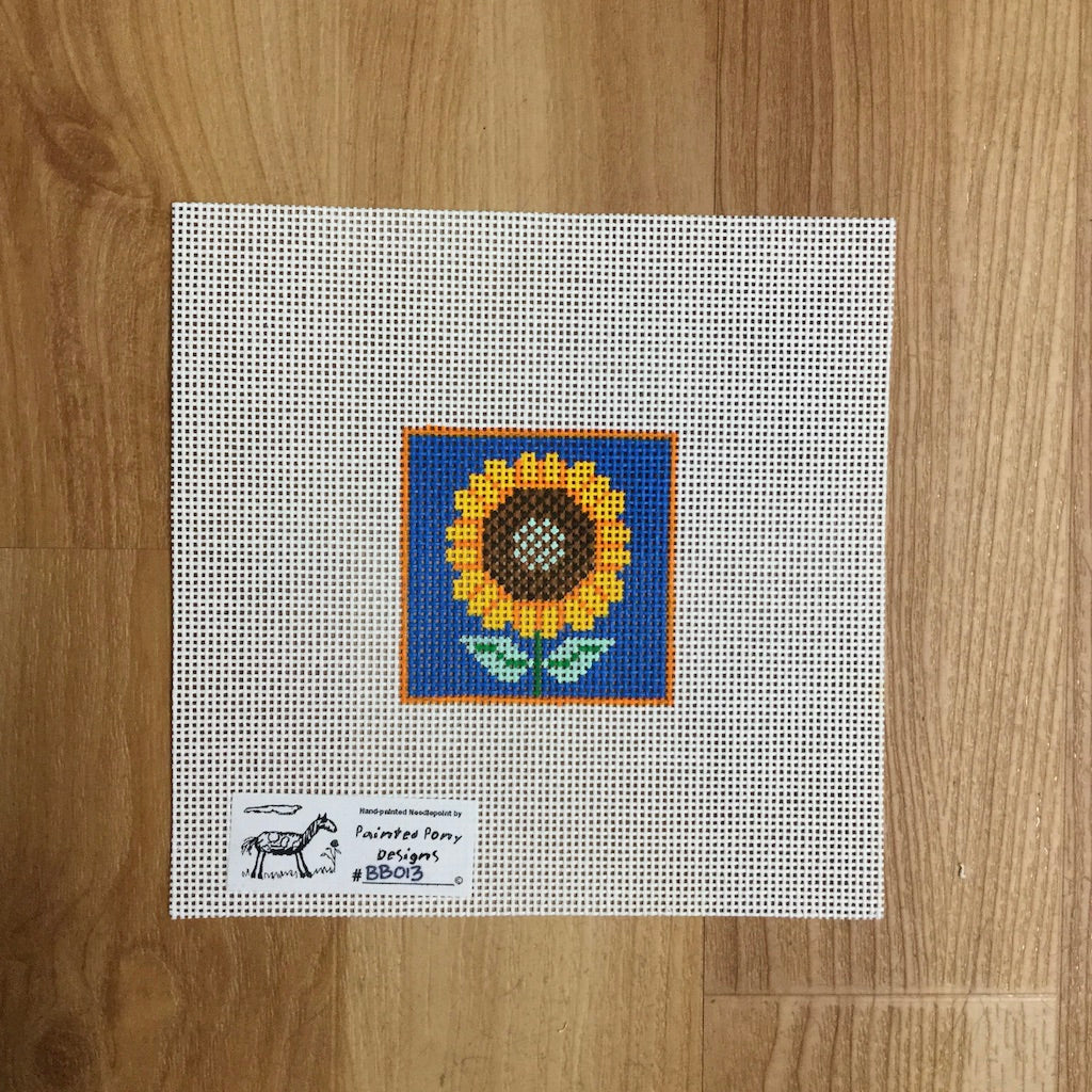 Sunflower Square Canvas