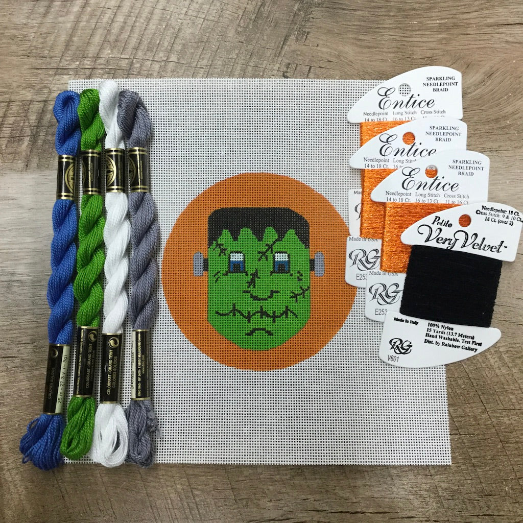 Frankenstein Needlepoint Kit